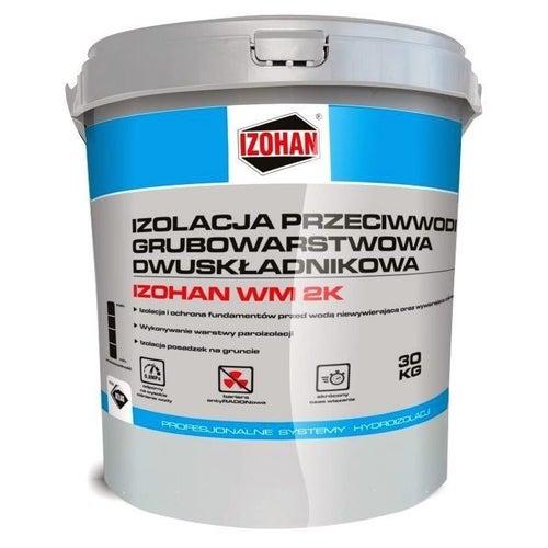 Hydroizolacja dwuskładnikowa Izohan WM 2K masa KMB 30 kg