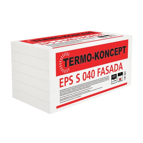 Styropian Termo-Koncept Fasada 20 cm  EPS 0,040 W/(mK) 1,5 m2