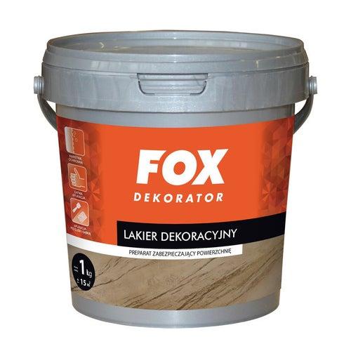Lakier dekoracyjny Fox satyna 1l
