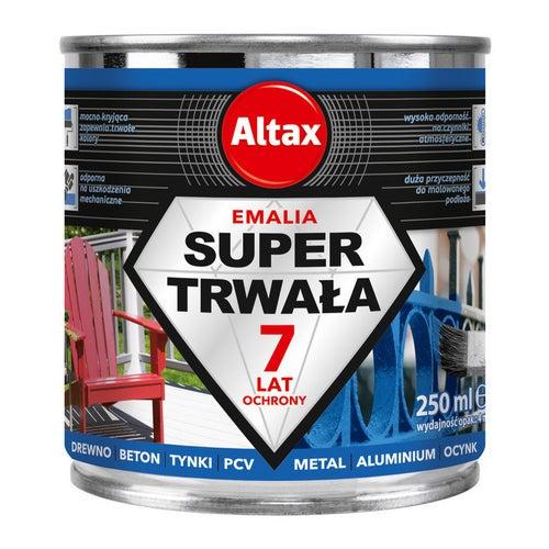 Emalia Altax Super Trwała biały połysk 0,25l