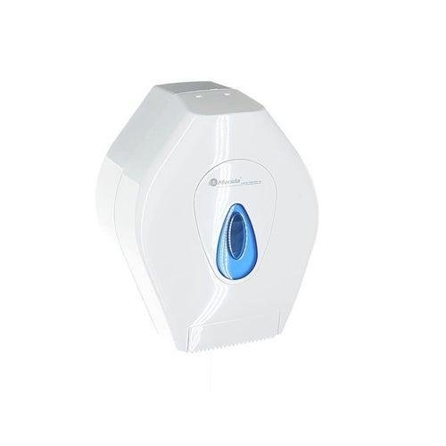 Pojemnik na papier toaletowy Merida Top Mini okienko niebieskie, BTN201