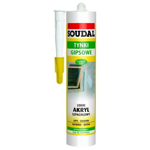 Akryl szpachlowy Soudal biały 280ml