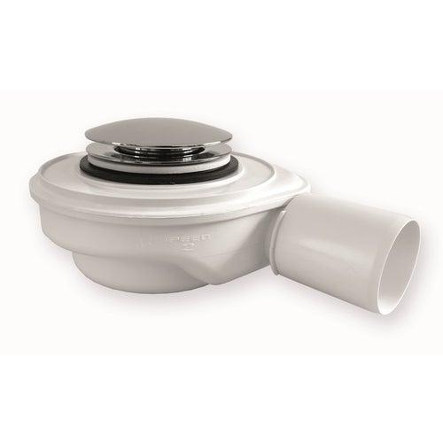 Syfon brodzikowy Speed 2 fi 50mm 30l/min czyszczenie z góry mosiężny klik-klak chrom