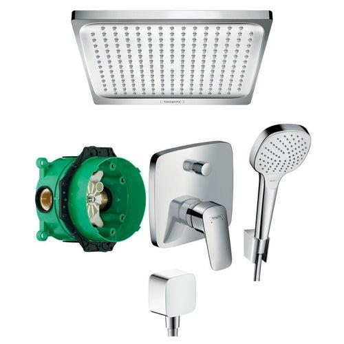 System podtynkowy prysznicowy Hansgrohe Mycube 52056495