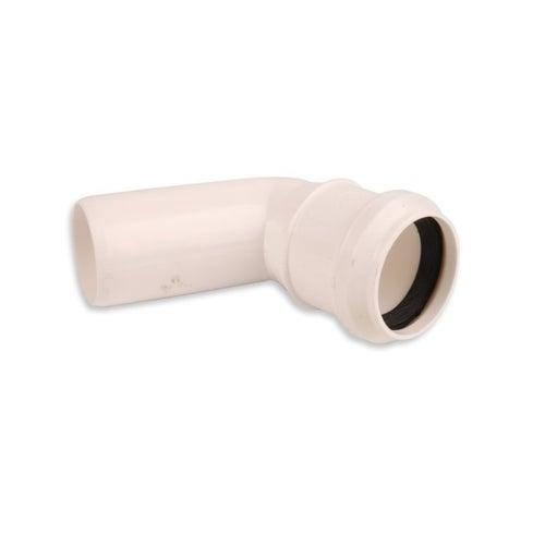 Kolano kanalizacyjne 67° 40 mm z uszczelką