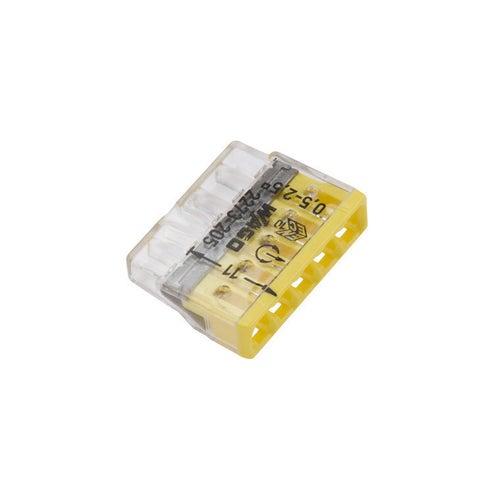 Szybkozłączka uniwersalna Wago 5x0,2-4mm2 50szt
