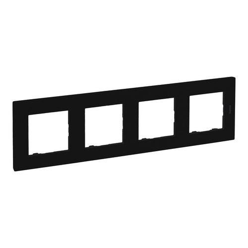 Niloe Step ramka czarna czterokrotna