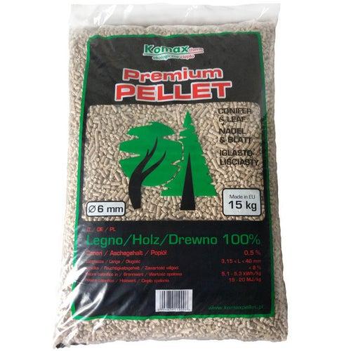 Pellet Premium Komax 19 MJ 15 kg