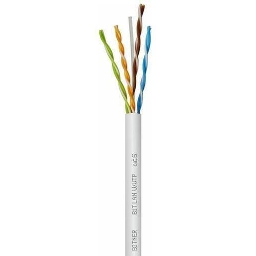 Kabel komputerowy UTP kat. 6 4x2x0,54 drut 100m