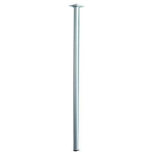 Noga meblowa D30x800 mm wykończenie aluminium