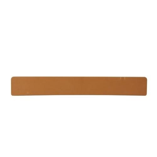 Zaślepki nakładki parapetowej PCV 40cm, złoty dąb