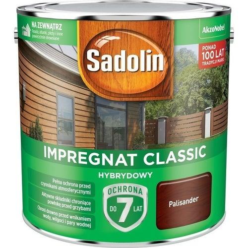 Impregnat hybrydowy Sadolin Classic palisander 2,5l