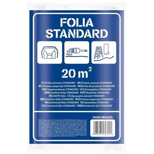 Folia malarska standard  4x5m gr. 0,005mm
