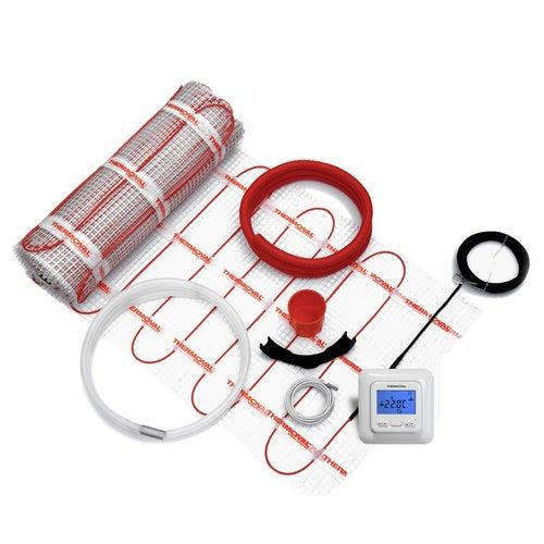 Zestaw ogrzewania podłogowego 2,5 m2 mata+regulator elektroniczny