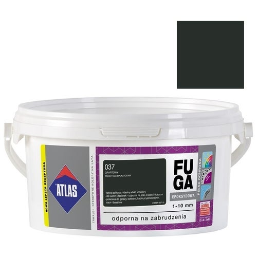 Fuga epoksydowa Atlas 037 grafitowy 2 kg