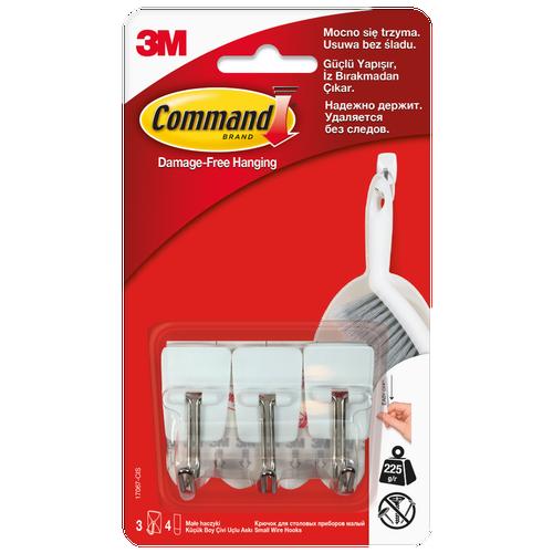 Haki Command z metalowym uchwytem 3 szt.