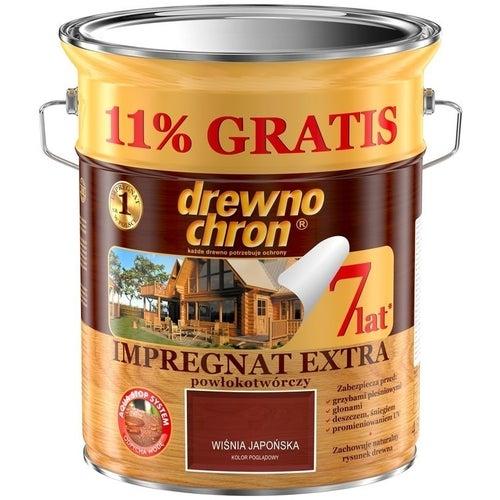 Impregnat Drewnochron Extra wiśnia japońska 4,5+11%l