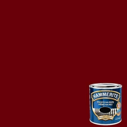 Farba antykorozyja Hammerite wiśniowy połysk 0,25l