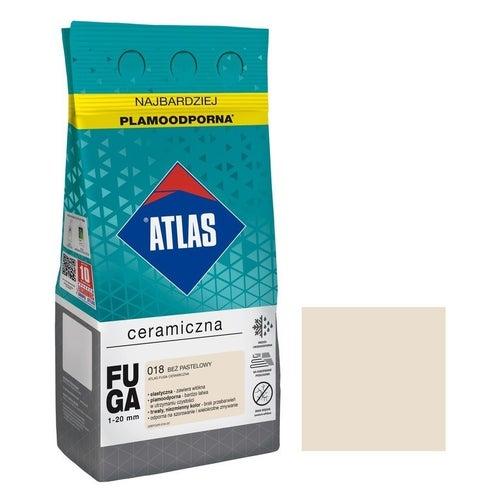 Fuga ceramiczna Atlas 018 beż pastelowy 5kg