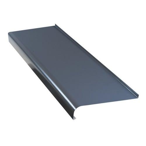 Parapet zewnętrzny stalowy grafit 20x120cm