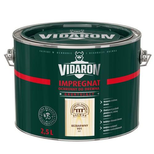 Impregnat Vidaron bezbarwny 2,5l