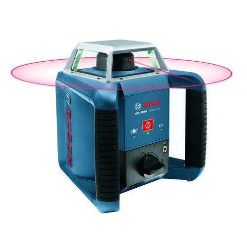 Laser rotacyjny z odbiornikiem GRL 400 H SET Bosch