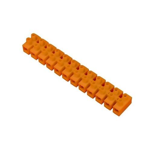 Listwa zaciskowa 12-torowa 25mm2 pomarańczowa