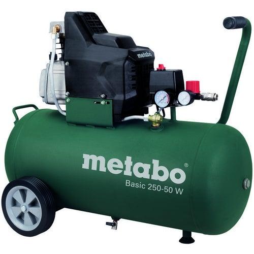 Kompresor olejowy 2,7KM 24L Basic 250-24 W Metabo + latarka GRATIS
