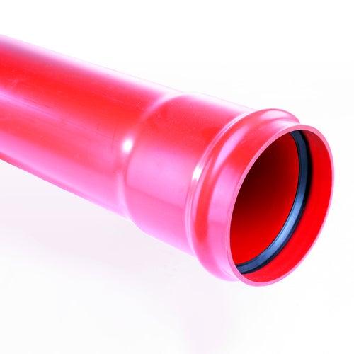 Rura kanalizacyjna zewnętrzna, PVC  SN 4, fi 110 mm, dł. 0,5 m