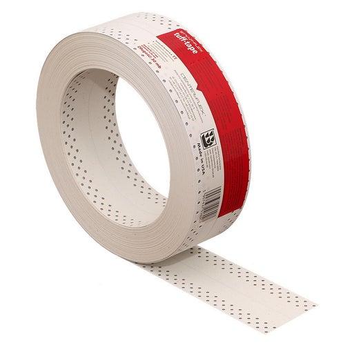 Taśma do połączeń i narożników wewnętrznych płyt g-k TUFF TAPE czerwona 30 mb