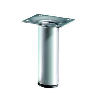 Noga meblowa D30x100 mm wykończenie aluminium