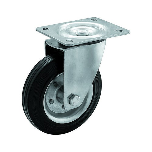 Zestaw jezdny skrętny 125 mm/100 kg