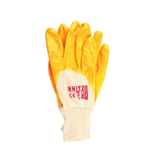 Rękawice z dzianiny powlekane nitrylem RNITZ, rozm. 10 (XL)