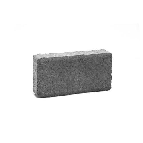 Kostka brukowa Bruk-Bet Holland grafitowa gr. 4 cm gładka wym.10x20 cm