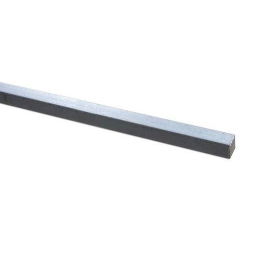 Pręt stalowy kwadratowy 8x8 mm x 2 m