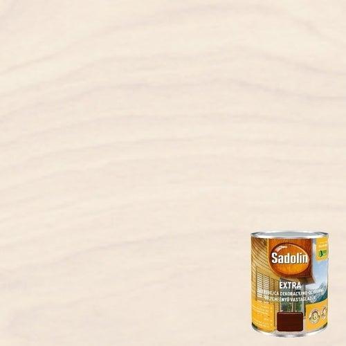 Lakierobejca Sadolin Extra biały krem 0,75l