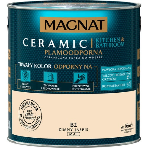 Farba Magnat Ceramic Kitchen&Bathroom zimny jaspis 2,5l