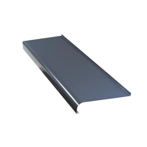 Parapet zewnętrzny stalowy grafit 25 cm