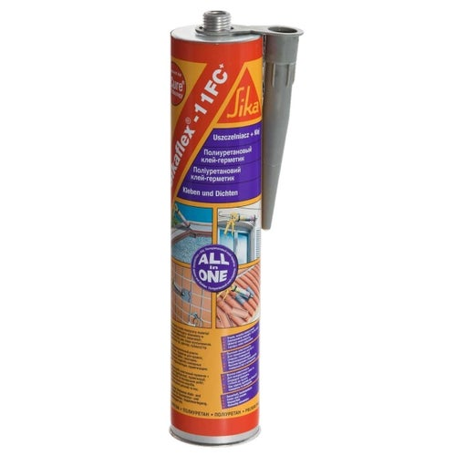 Klej i uszczelniacz poliuretanowy Sikaflex-11 FC 300 ml, biały