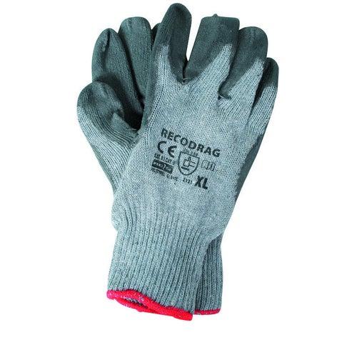 Rękawice z dzianiny i gumy ECODRAGXLSS, rozm. 10 (XL)