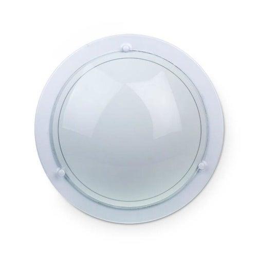 Plafon P1/1 Classic 1x60W, szkło, biały