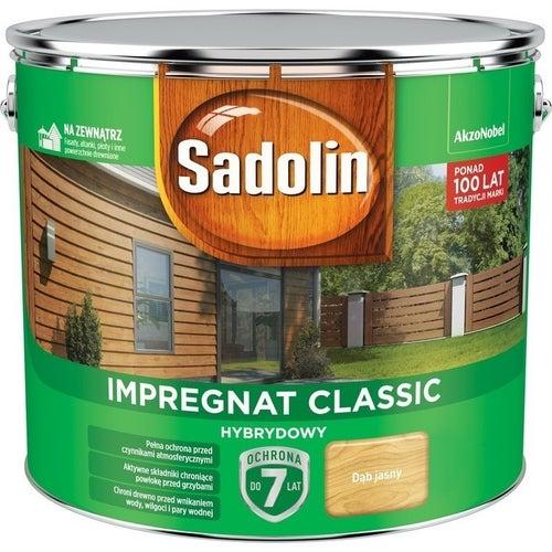 Impregnat hybrydowy Sadolin Classic dąb jasny 9l