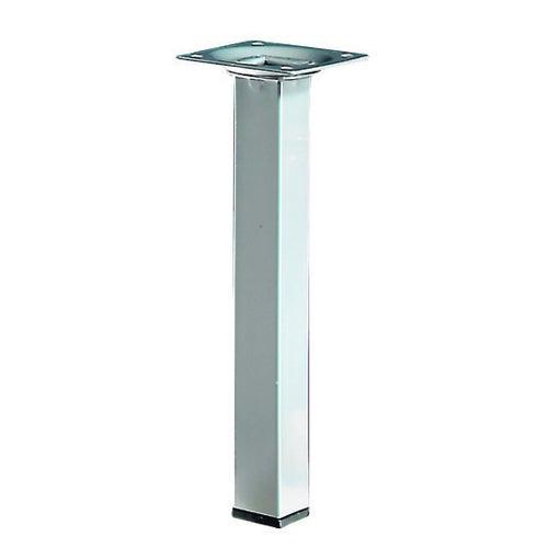 Noga meblowa 25x25 200 mm wykończenie aluminium