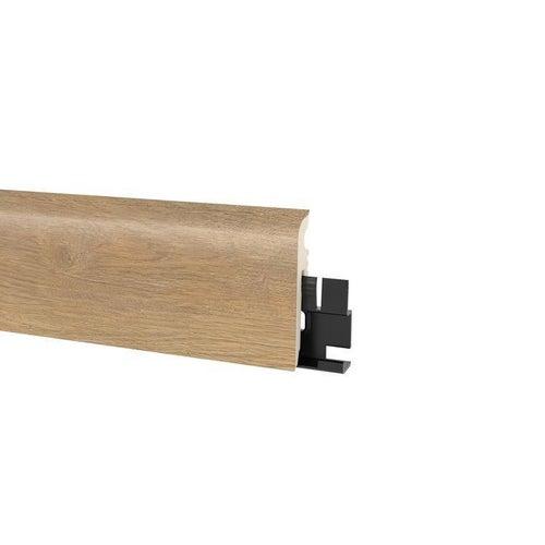 Listwa przypodłogowa Vigo 60 2200x60x15 dąb sierra