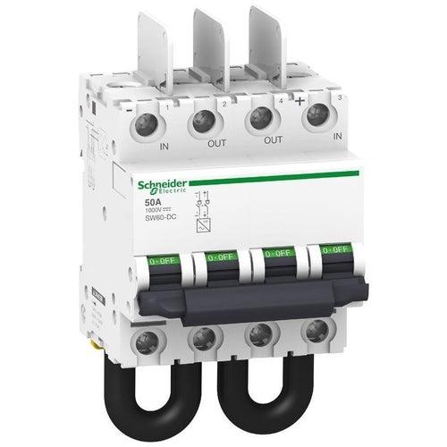 Rozłącznik izolacyjny DC SW60 4P 50A 2-biegunowy 1000VDC A9N61699 Schneider