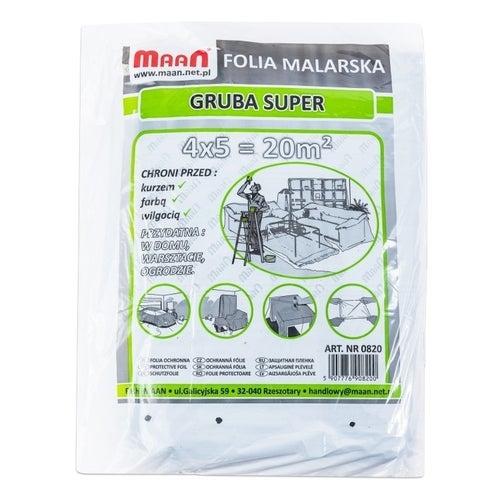 Folia malarska super gruba 4x5m