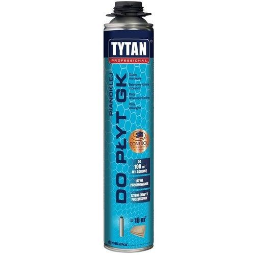 Pianoklej poliuretanowy do płyt gipsowo-kartonowych Tytan 840 ml, pistoletowy