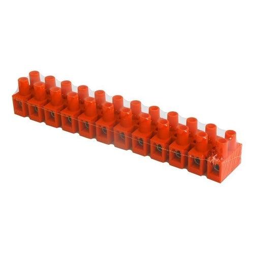 Listwa zaciskowa 12-torowa 10mm2 pomarańczowa