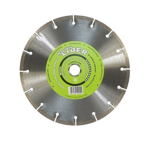 Tarcza diamentowa do cięcia betonu Lider segment 115mm 22.2mm