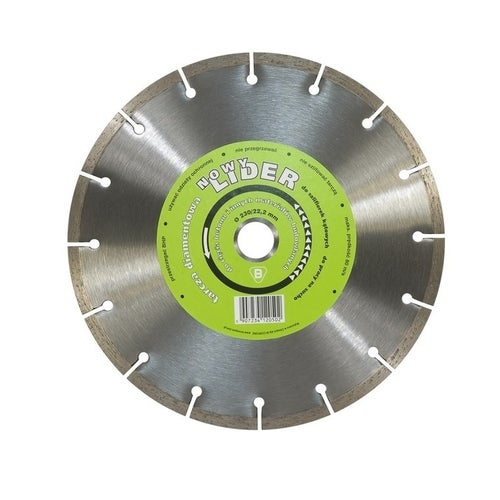 Tarcza diamentowa segmentowa 115x22,2 mm LIDER